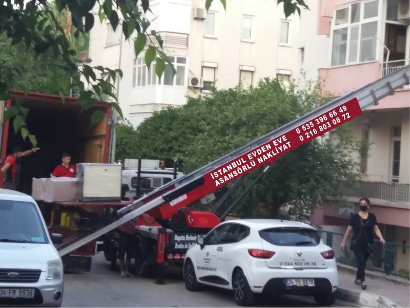 İstanbul asansörlü evden eve taşıma firmaları